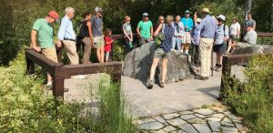 Quarry Gardens visitors